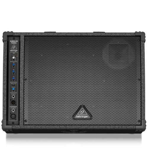 Behringer Eurolive F1220A High-Performance, Active 125-Watt Monitor Speaker System With 12 Woofer, 1 Compression Driver And Feedback Filter