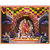 "Dolls Of India ""Shirdi Sai Baba"" Reprint On Paper - Unframed (27.94 X 22.86 Centimeters)"