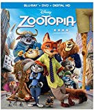 Zootopia (Blu-ray + DVD + Digital HD) - June 7