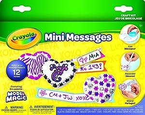 Crayola Model Magic Mini Messages Play Set