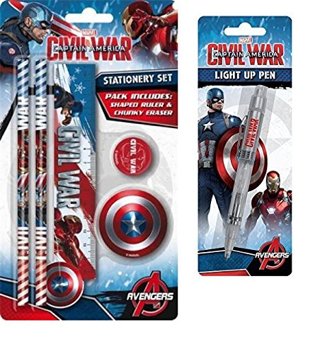 captain-america-light-up-pen-and-stationary-set
