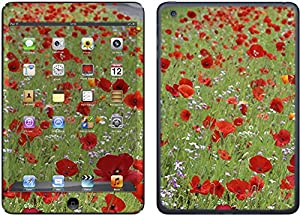Poppies - Lapjacks adhesive vinyl sticker to fit Apple iPad Mini