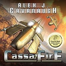 CassaFire Audiobook by Alex J. Cavanaugh Narrated by Michael Burnette