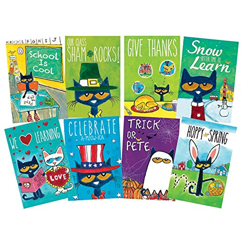 Pete the Cat Poster Set (Pete The Cat Bulletin Board Set compare prices)
