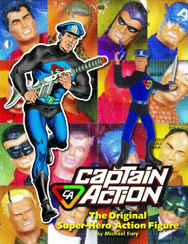 Captain Action: The Original Super-Hero Action Figure (hardcover)