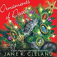 Ornaments of Death: A Josie Prescott Antiques Mystery: Josie Prescott Antiques Mysteries (       UNABRIDGED) by Jane K. Cleland Narrated by Tiffany Morgan