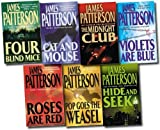 James Patterson James Patterson Collection 7 Books Set Pack RRP £50.93 (Cat and Mouse, Beach Road, Violets are Blue, Pop Goes the Weasel, Four Blind Mice, Hide and Seek, The Midnight Club) (James Patterson Collection)