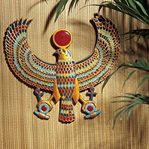 Design Toscano AH22206 Horus Egyptian Wall Plaque from Design Toscano