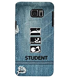 PRINTSWAG STUDENT Designer Back Cover Case for SAMSUNG GALAXY NOTE 5 EDGE