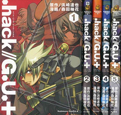 .hack//G.U.+ コミック 全5巻完結セット (角川コミックス・エース )