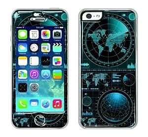 Flapsta iPhone5/5s Gel Case +Front Gel Skin/ Radar Map
