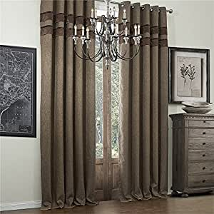 Amazon.com - IYUEGOU Wide Curtains 120Inch-300Inch for Large Windows