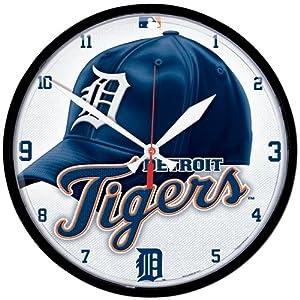 MLB Detroit Tigers Baseball Wall Clock by WinCraft