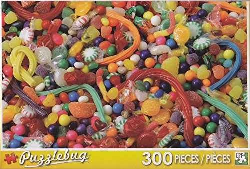Puzzlebug 300 Piece Puzzle ~ Candy Explosion - 1