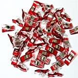 CADY, Paper Clips, Blinder Clips, Multi-purpose Clips, Red (100pcs) (Color: Red, Tamaño: 100pcs)