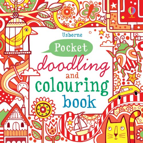 Pocket Doodling and Colouring Book (Usborne Art Ideas)