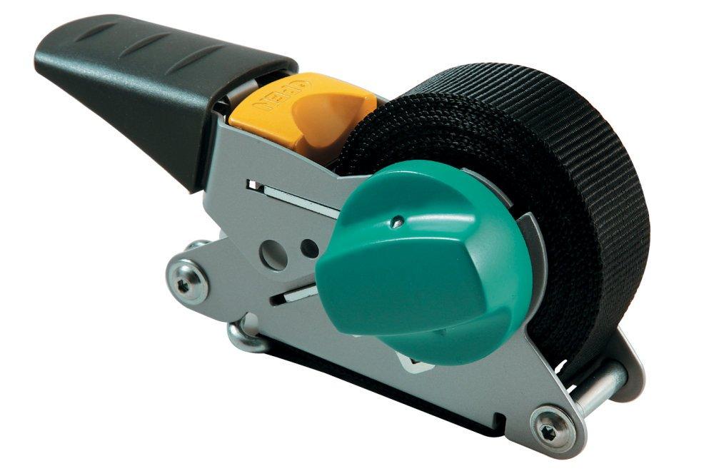 Wolfcraft 3683000 - Tensor de cinta de carraca, con mecanismo de rebobinado, fuerza de sujeción 100 kg   Comentarios de clientes y más información