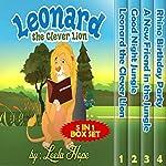 Leonard the Clever Lion Series: 4 in 1 Box Set | Leela Hope