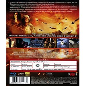 Battle of Los Angeles [Blu-ray] [Import allemand]