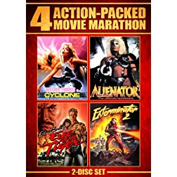 Action Packed Movie Marathon (Cyclone, Alienator, Eye Of The Tiger &amp; Exterminator 2)
