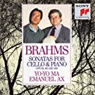 Brahms: Sonatas for Cello & Piano, Opp. 38., 99 and 108