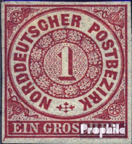 Norddeutscher Postbezirk 4 Pracht gestempelt 1868 Groschenwährung (Briefmarken für Sammler)