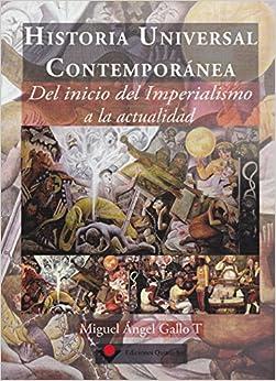 Historia universal contemporanea. Del inicio del Imperialismo a la