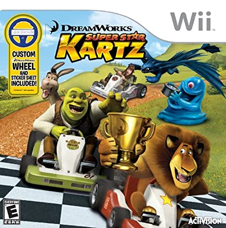 Dreamworks Super Star Kartz With Wheel