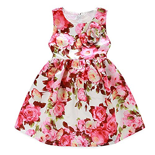 Ephex Toddler Girls Flower Princess Dress