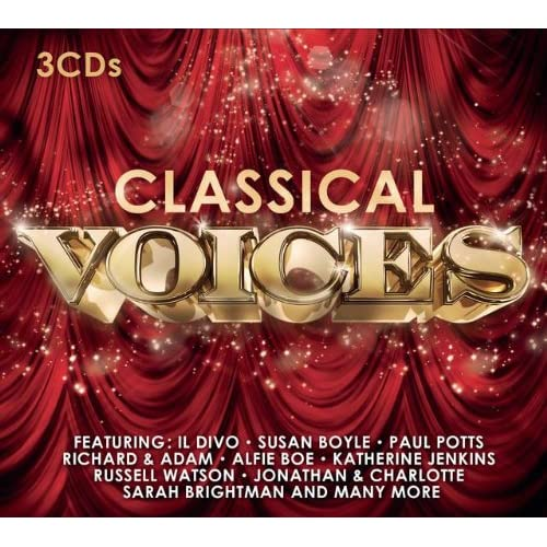 Classical-Voices-3CD-Set-Featuring-Susan-Boyle-Alfie-Boe-Jonathan-Charlot