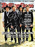 Kings of Leon Band Signed Autographed 2009 Rolling Stones Complete Magazine - COA -Ex++/Near Mint Condition!