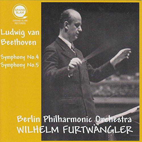 ベートーヴェン : 交響曲 第4番 & 第5番 「運命」 (Ludwig van Beethoven : Symphony No.4 & Symphony No.5 / Wilhelm Furtwangler & Berlin Philharmonic Orchestra) [June,1943] [Live Recording]