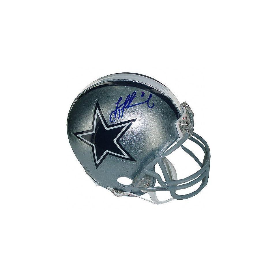 Troy Aikman Dallas Cowboys Autographed Mini Helmet