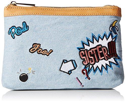 Paul & Joe Cosmetic Pouch FAY cosmetici e borsetta da donna 22 x 6 x16cm (L x A x P), Blu (Blau (Light Jeans 366 366)), 22x6x16 cm (B x H x T)
