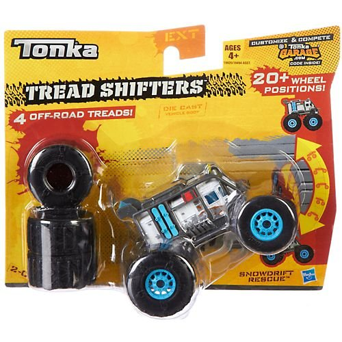 Tonka Tread Shifters Snow Drift Rescue 2-C Vehicle