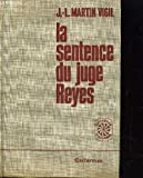 img - for La sentence du juge Reyes book / textbook / text book