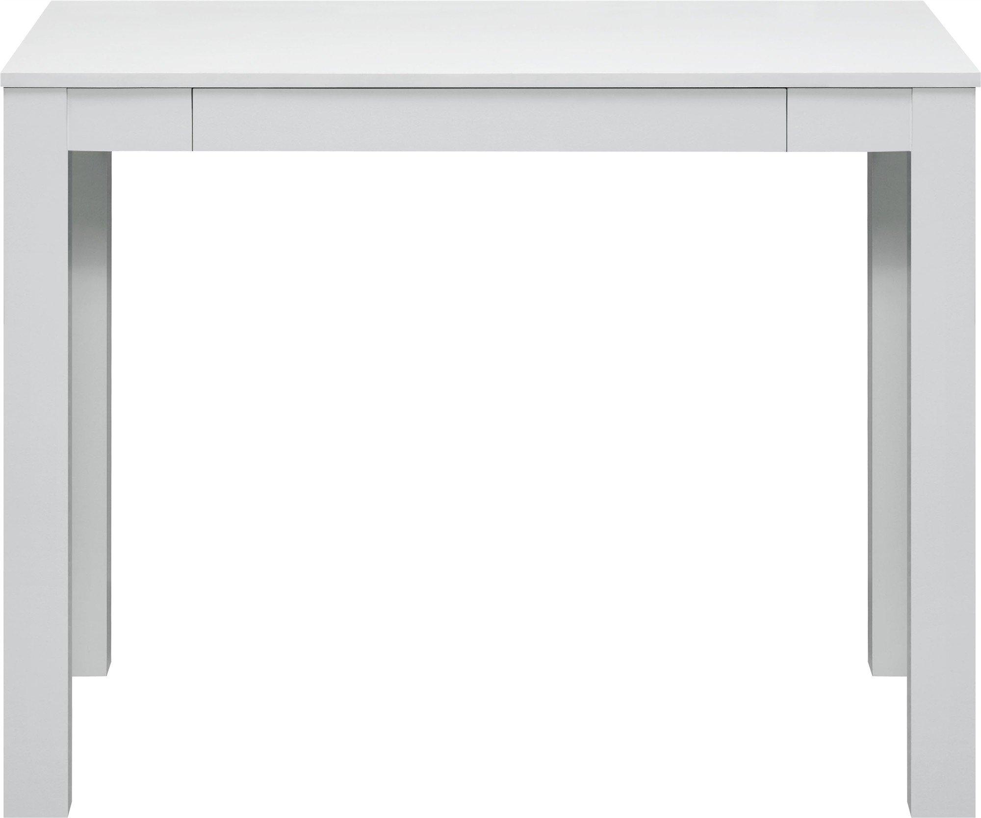 altra parsons desk with drawer white. Black Bedroom Furniture Sets. Home Design Ideas