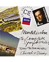 Mendelssohn : Intégrale des symphonies (Coffret 4 CD)