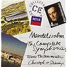 Mendelssohn : Int�grale des symphonies (Coffret 4 CD)