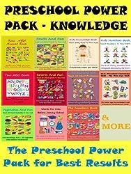 Kids Preschool Power Pack For Knowledge - Power Pack of Best Knowledge Preschool Kids Books
