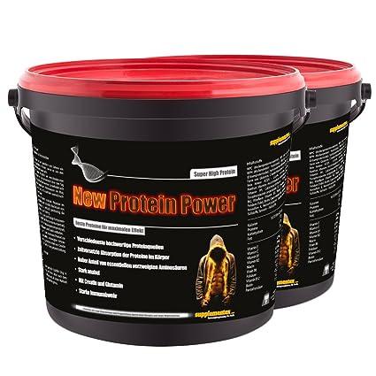 New Protein Power! 2x900g Molkenprotein Eiweißshake Glutamin Anabol Kreatin Aminosäure BCAA Muskelaufbau Geschmack Tiramisu
