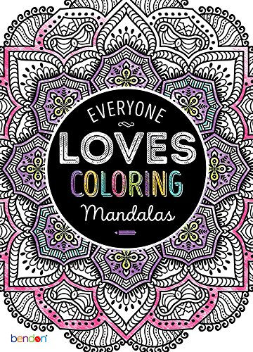 Bendon Mandalas Adult Coloring Book - 1