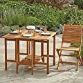 Westerly Acacia Wood Folding Table