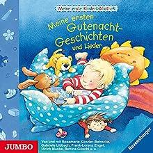 Meine ersten Gutenacht-Geschichten und Lieder (Meine erste Kinderbibliothek) Hörbuch von Rosemarie Künzler-Behncke Gesprochen von: Frank-Lorenz Engel, Gabriele Libbach
