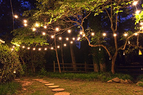 How To String Outdoor Lights Without Trees Creativity - pixelmari.com