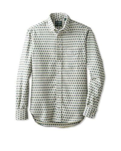 Gitman Vintage Men's Patterned Flannel Long Sleeve Key Shirt