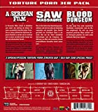 Image de Torture Porn 3er Pack:Saw Massacre/Blood Dungeon/a [Blu-ray] [Import allemand]