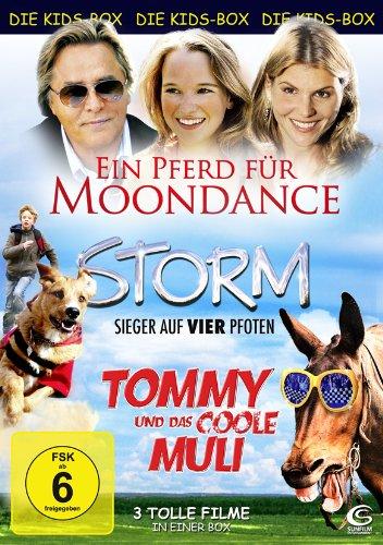 Die Kids-Box 2: Ein Pferd für Moondance, Storm - Sieger auf vier Pfoten, Tommy und das coole Muli [3 DVDs]