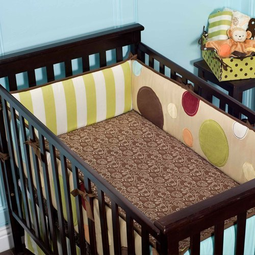 Little Missmatched Silly Safari Crib Sheet