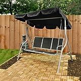 3 Seater Swinging Textoline Garden Hammock / Seat